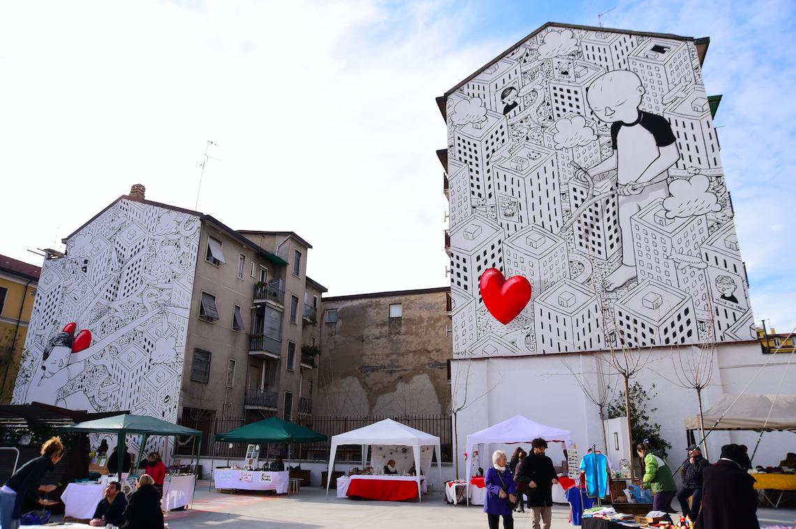 Weekend in Milan Giardino delle Culture