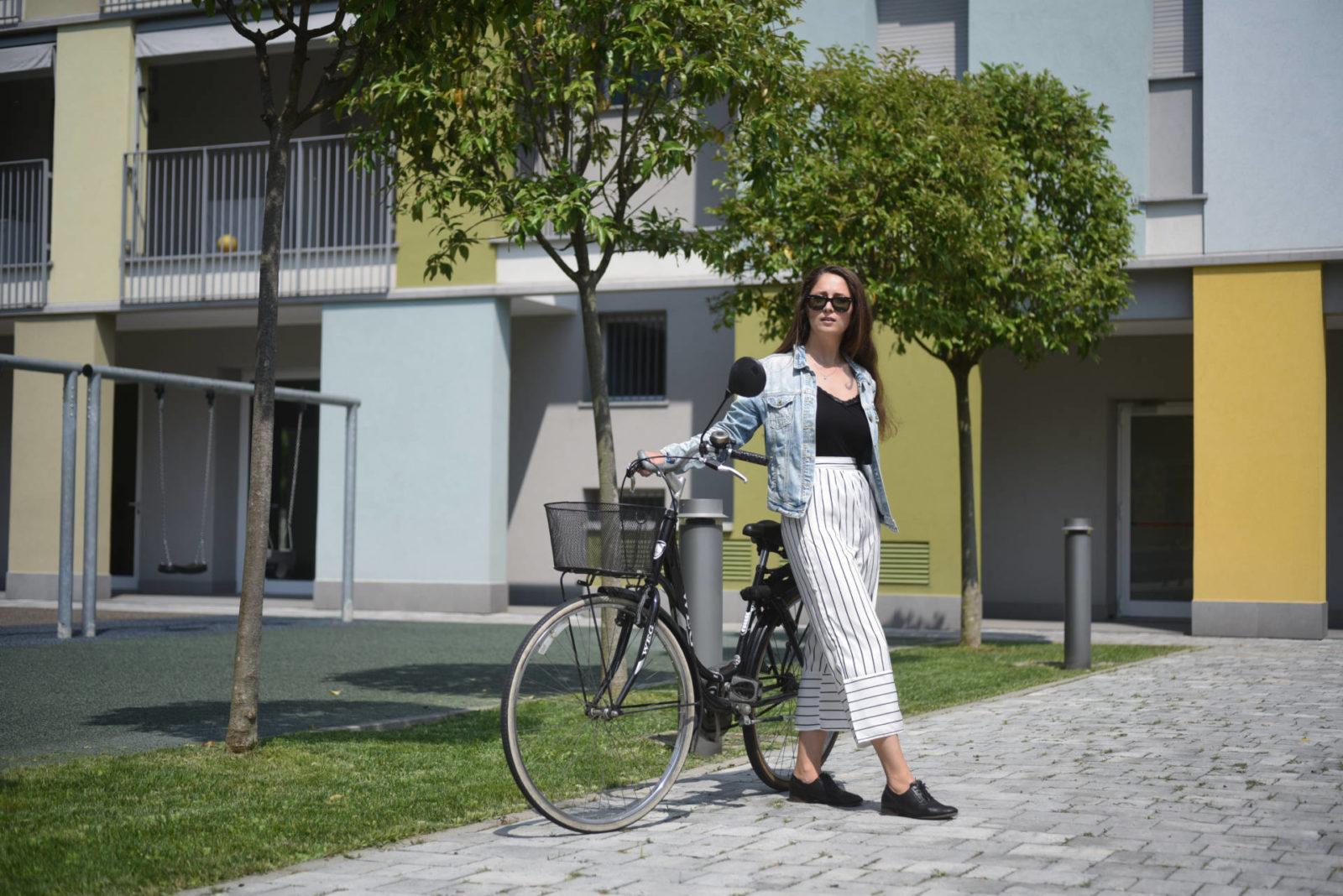 bicycle in Milan lifestyle blogger Dilya London